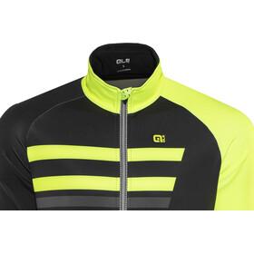 Alé Cycling Piuma Jacket Men Black-Fluo Yellow